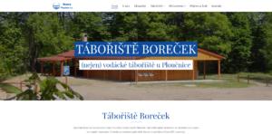 Tábořiště Boreček - homepage
