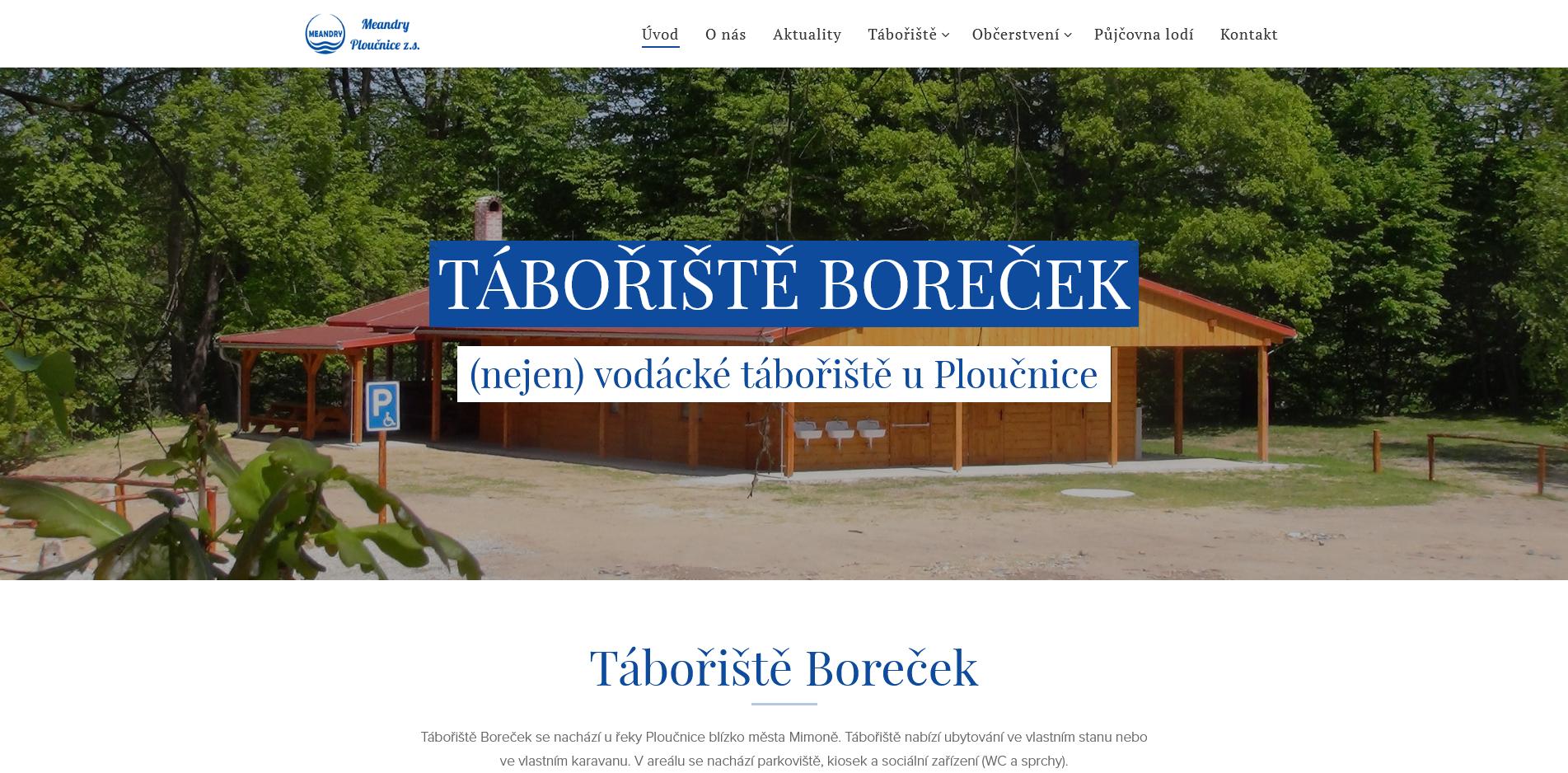 Read more about the article Tábořiště Boreček